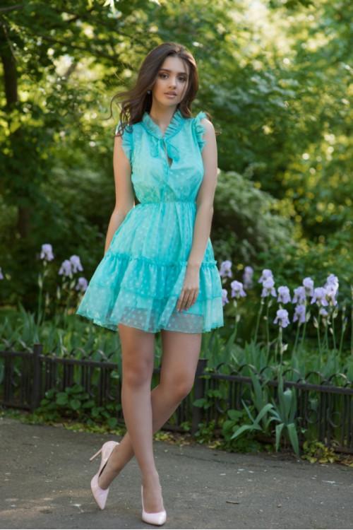 Платье 3419 мята